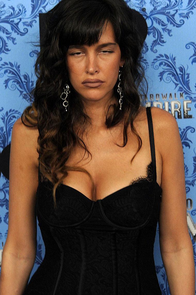 Celebrities arrive to HBO's 'Boardwalk Empire' Premiere Screening in NYC