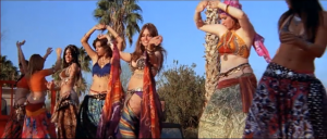 At least there's bellydancing!
