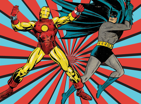 Iron Man vs Batman, Marvel vs DC