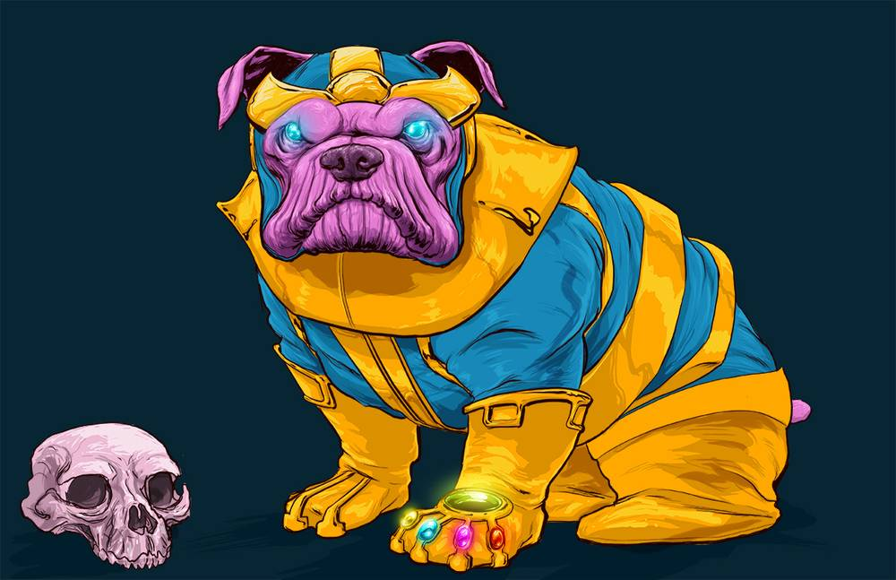Josh-Lynch-Dog-Thanos