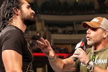 HBK and Seth Rollins 2