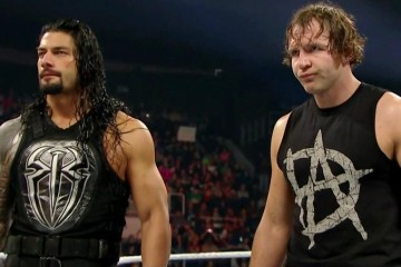 Reigns and Ambrose AAGG