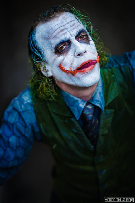 Dark Knight Joker Jesse Oliva photo York in a box Otaku