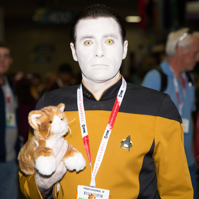 Data- Star Trek NG SDCC wired