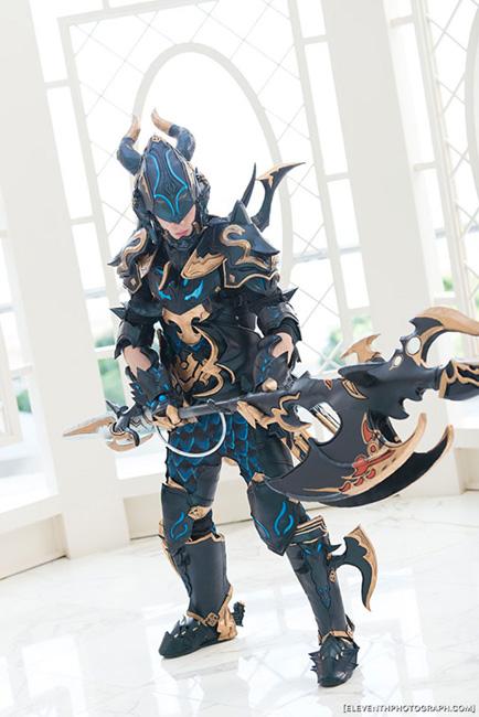 Dragoon FF14 Layton Props Katsucon MD Kotaku