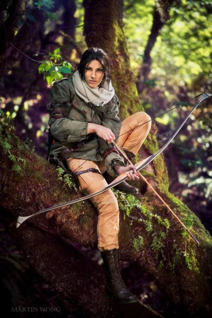 Lara Croft Rise of the Tomb Raider Jenn Croft Cosplay fresh