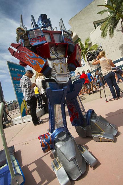 Optimus Prime SDCC BI