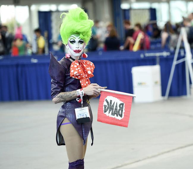 Unique Alienesque Joker SDCC BI