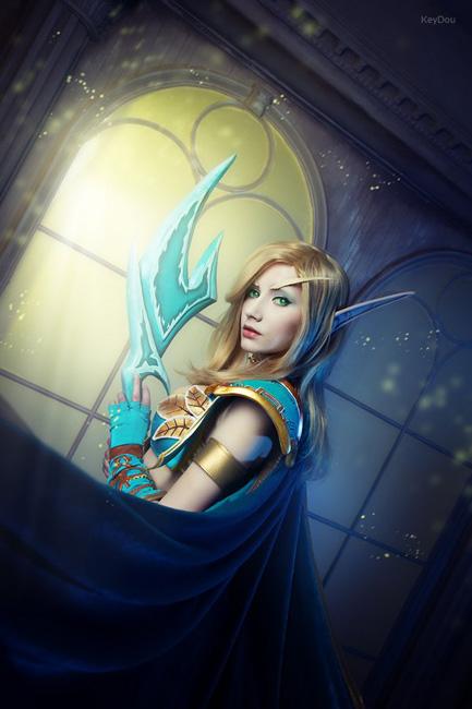 blood elf WOW narga-lifestream cosplay freshinfos
