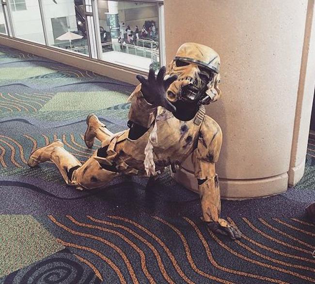 zombie storm trooper megacon moviepilot