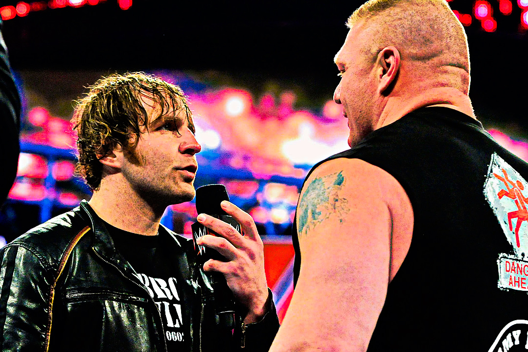 Ambrose and Lesnar AAGG