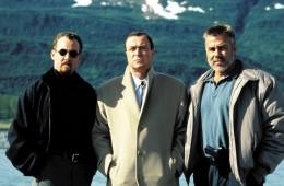 ON DEADLY GROUND, John C. McGinley, Michael Caine, Richard Hamilton, 1994, (c) Warner Brothers