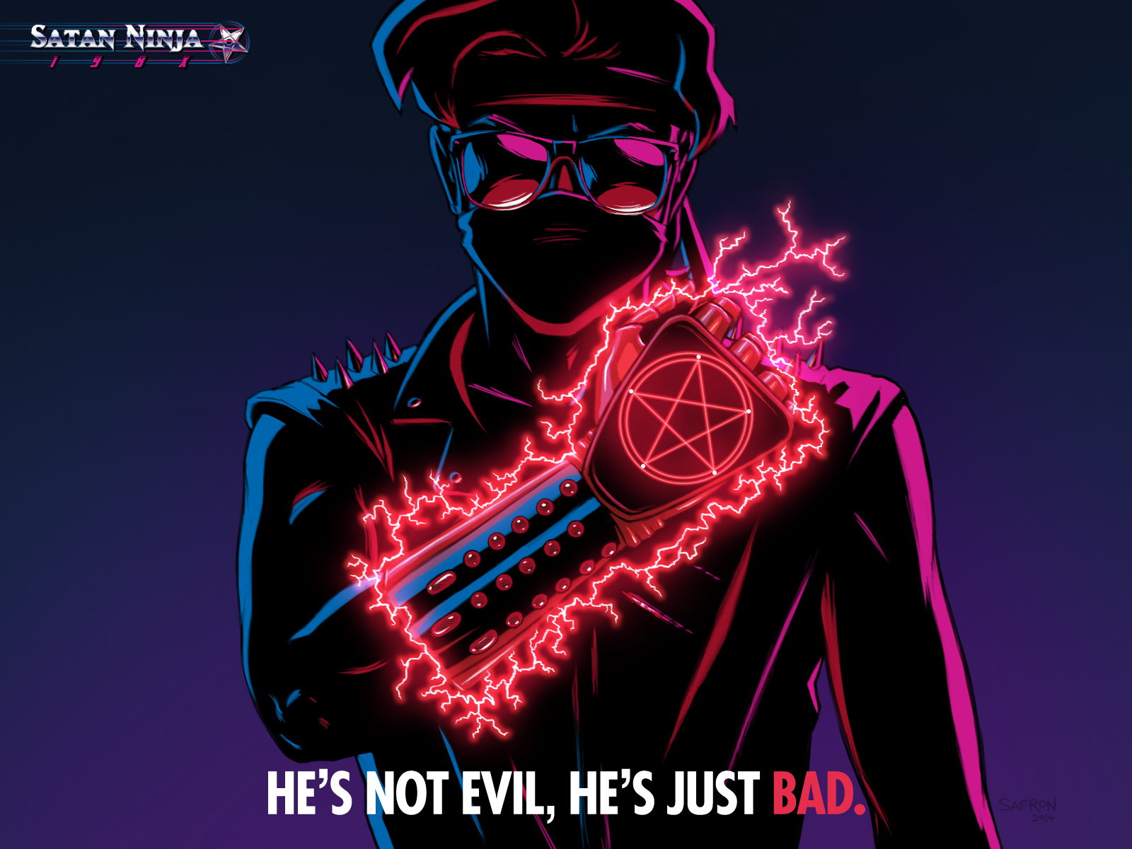 Satan Ninja wallpaper Just Bad 1600x1200