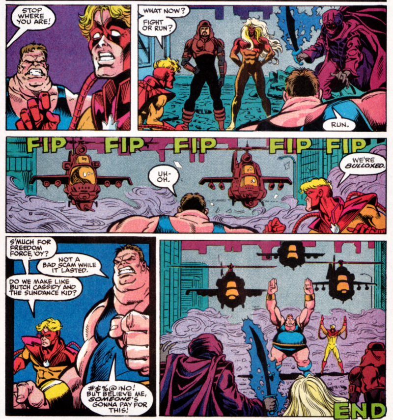 X-Factor Annual #6 - So Long Freedom Force