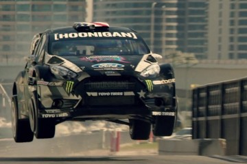 gymkana 8 ken block ford focus rx