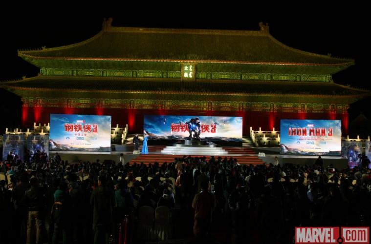 IRON MAN 3 IN CHINA