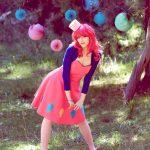 JusZ Cosplay Pinkie Pie Charlie Nicholson
