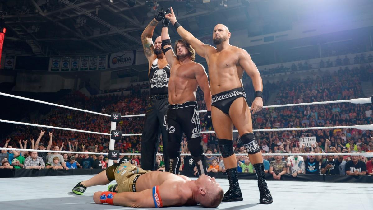 AJ Turns on Cena