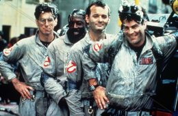 Photo ID - 23778, Year - 1984, Film Title - GHOSTBUSTERS, Director - IVAN REITMAN, Studio - , Keywords - 1984, DAN AYKROYD, BILL MURRAY, HAROLD RAMIS, IVAN REITMAN