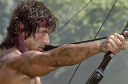 Rambo II bow and arrow