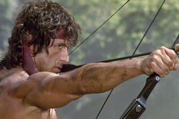 Rambo II bow and arrow