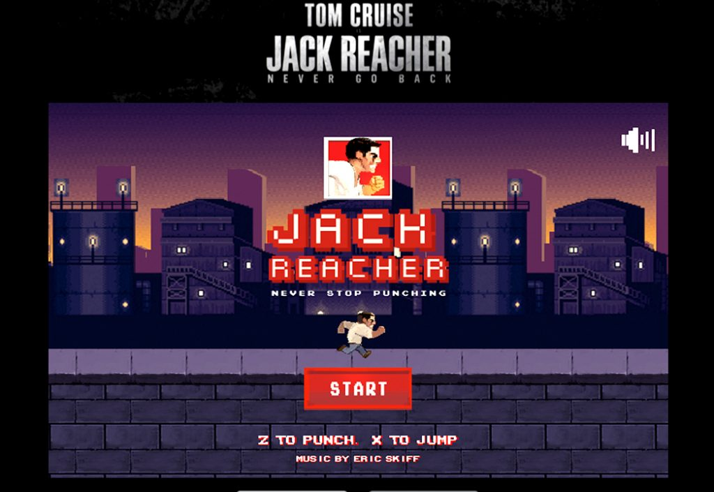 Jack Reacher AAGG Never Stop Punching