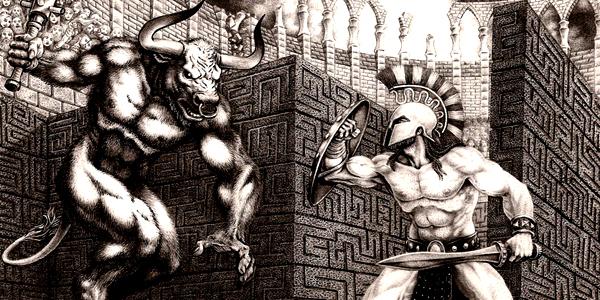 Greek Mythology Minotaur