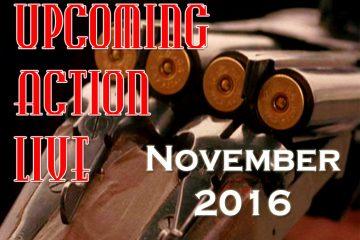 Upcoming Action Live November 2016