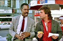 Lethal Weapon hot dog cart