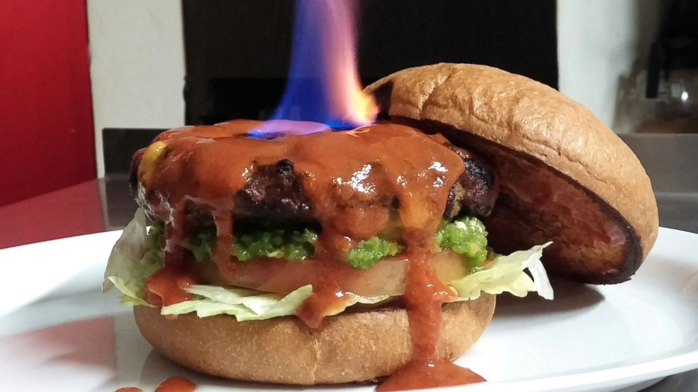 xxx world's hottest burger