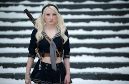 """EMILY BROWNING as Babydoll in Warner Bros. Pictures' and Legendary Pictures' epic action fantasy """"SUCKER PUNCH,"""" a Warner Bros. Pictures release."""