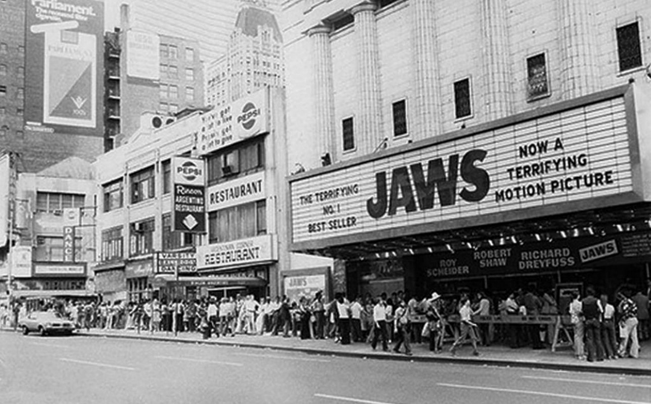 Jaws box office lines