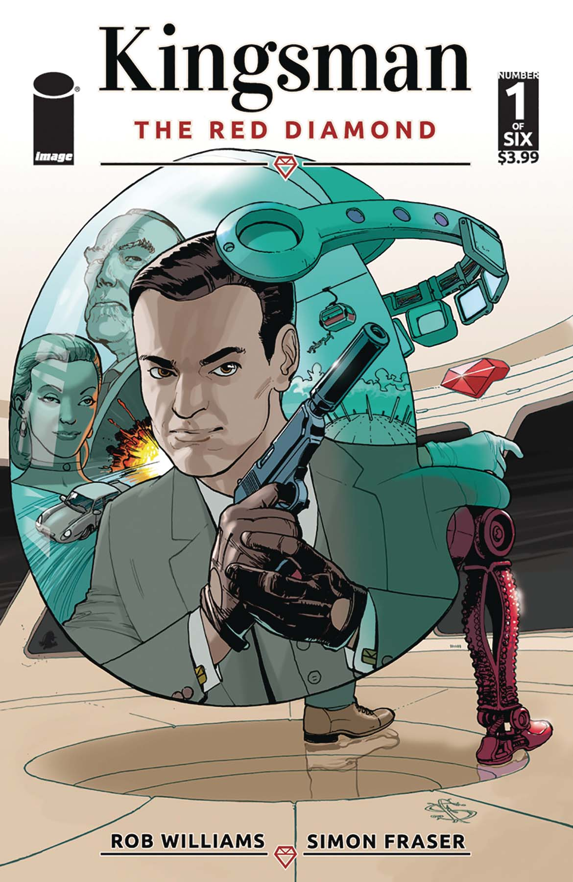 KINGSMAN RED DIAMOND #1 A