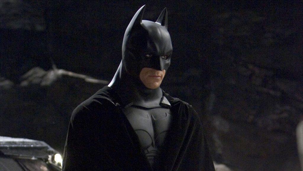 Batman Begins (2005) Directed by Christopher Nolan Shown: Christian Bale (as Bruce Wayne/Batman)