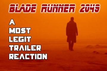 Blade Runner Trailer Reaction AAGG