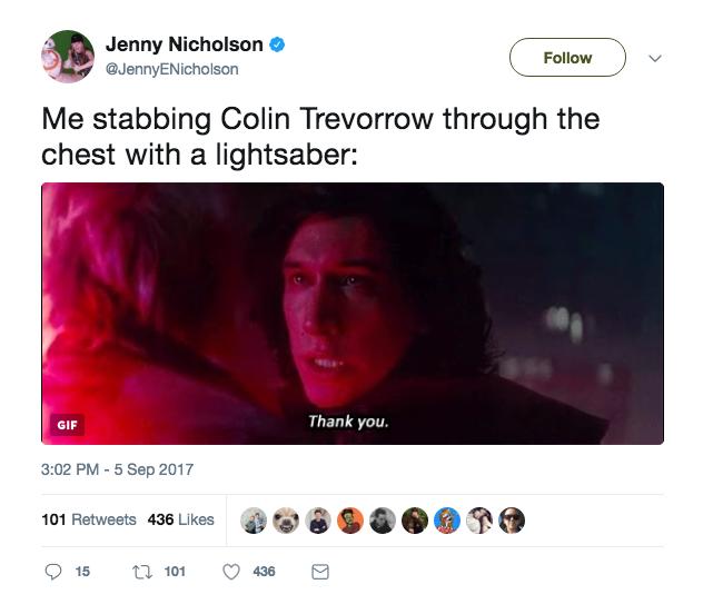 Trevorrow Star Wars Episode IX
