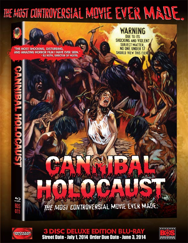 cannibal holocaust home release