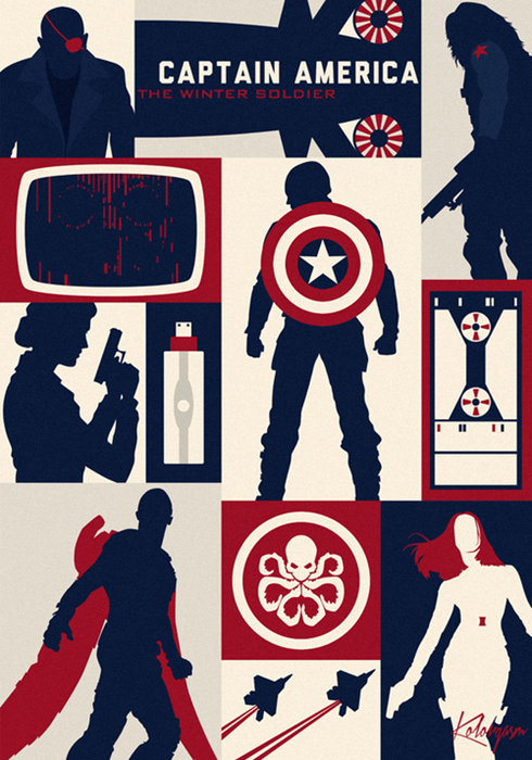 'WINTER SOLDIER' Gets The Art Deco Treatment – Action A Go ...