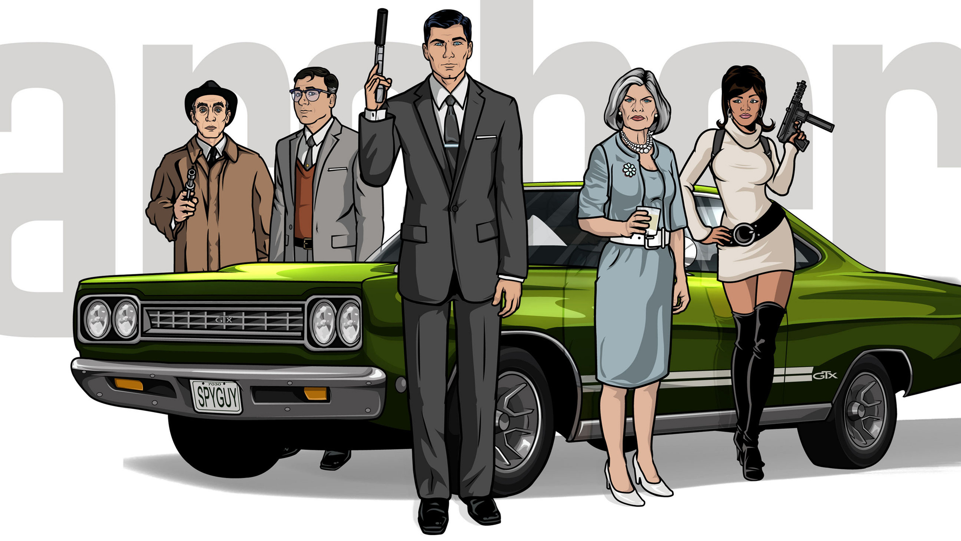 ARCHER: Archer, a new half-hour animated comedy series airing on FX