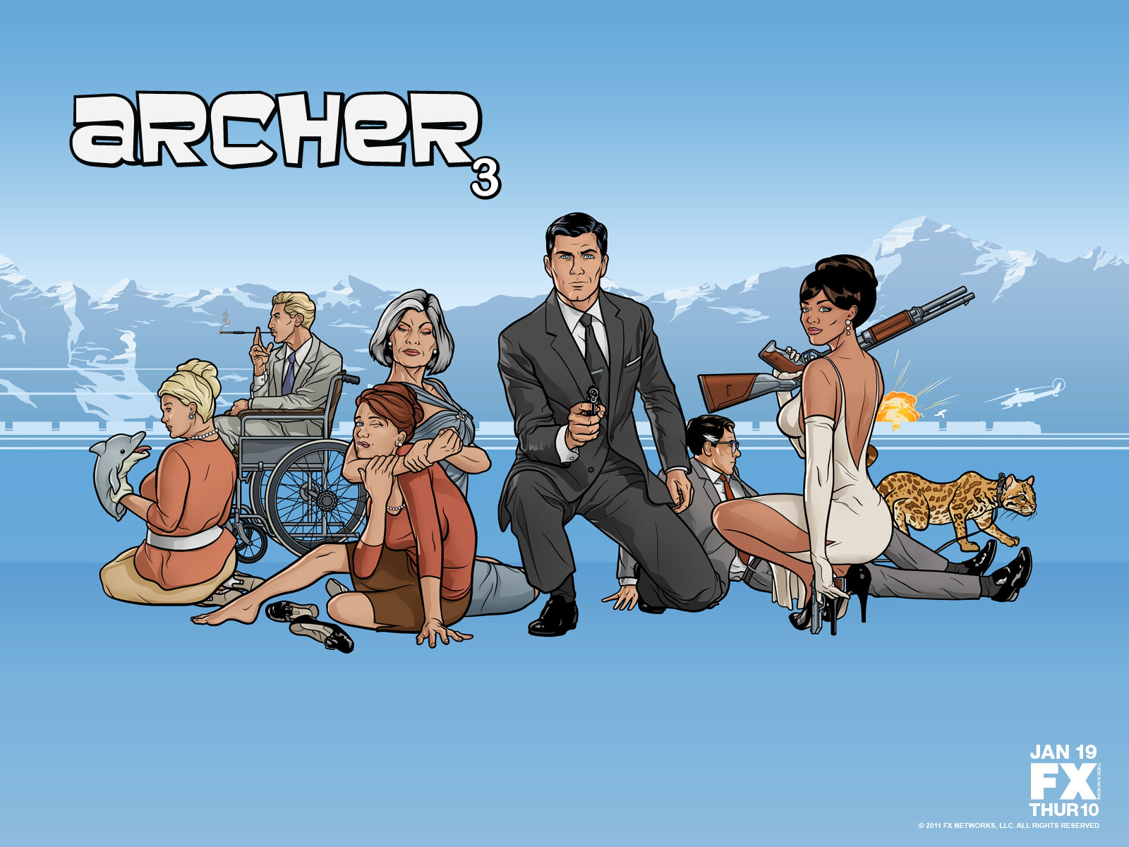 ARCHER WALLPAPER 5
