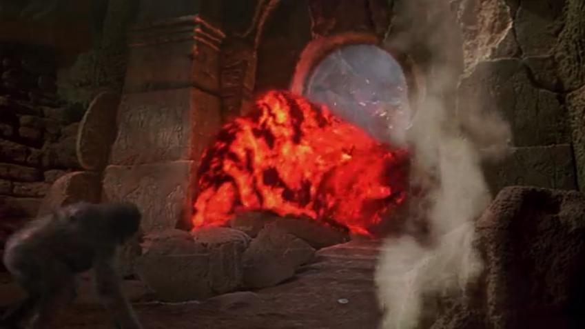 CGI lava