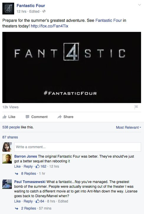 Fantastic Four Facebook 3