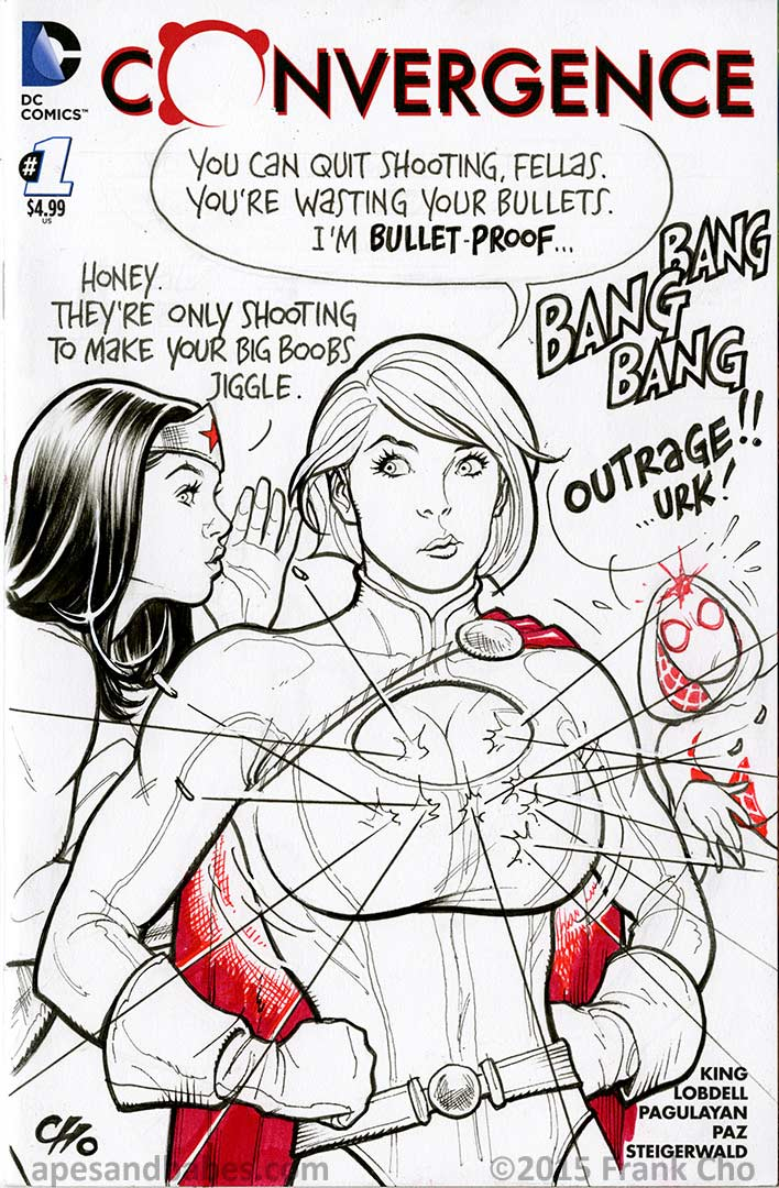 Frank Cho Power Girl 2