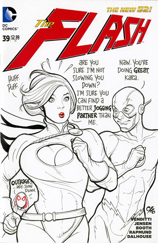 Frank Cho Power Girl 5
