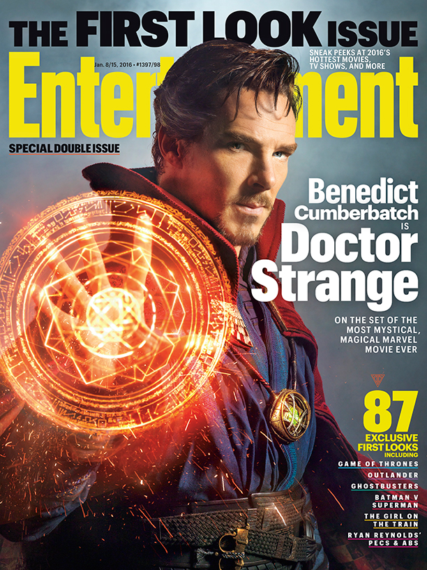 ENTERTIANMENT WEEKLY DR STRANGE