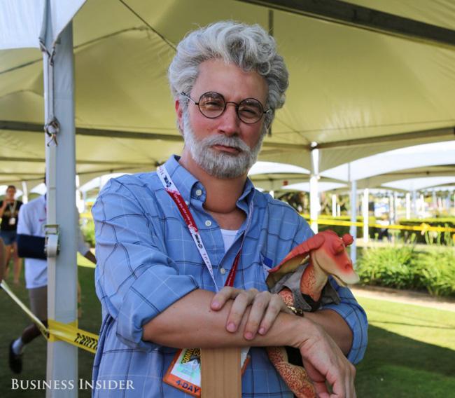 George Lucas SDCC BI