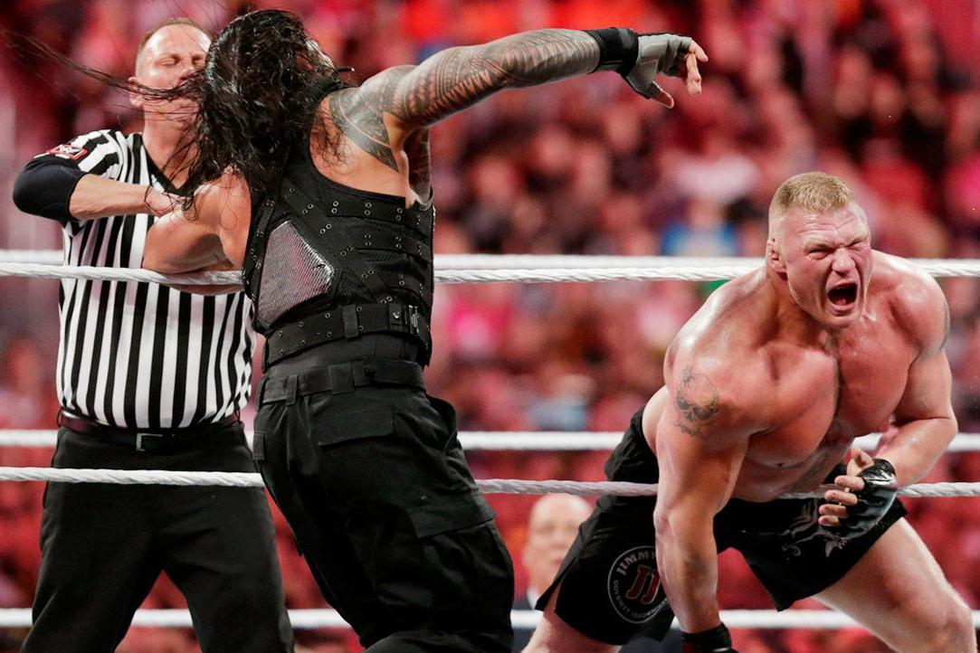 Reigns vs. Lesnar AAGG