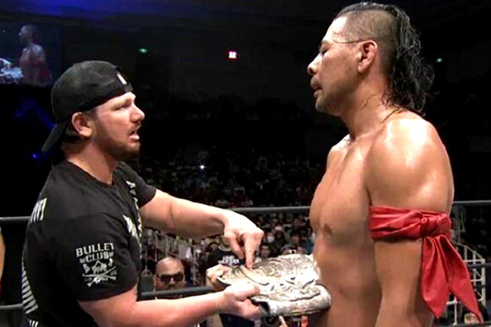 AJ Styles vs. Nakamura