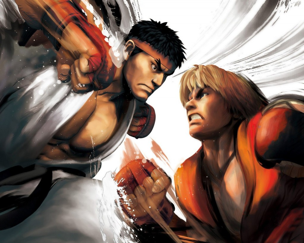 Ryu_vs_ken-Street_Fighter_5_Game_HD_wallpaper_1280x1024