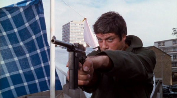 Oliver Reed in Sitting Target